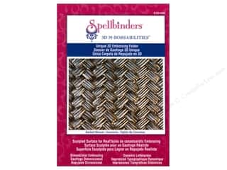 Spellbinders M Bossabilities Folder 3D Basket Weave