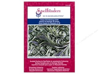 Spellbinders M Bossabilities 3D Ornamental Swirls