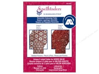 Spellbinders M Bossabilities Folder Dotted Flowers