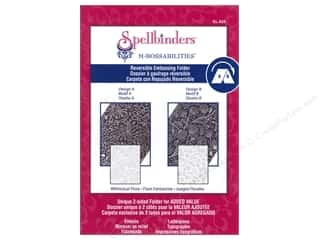 Embossing Aids Spellbinders Embossing Folder: Spellbinders Embossing Folder M Bossabilities Whimsical Flora