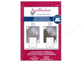 Embossing Aids: Spellbinders Embossing Folder M Bossabilities Framed Petite Labels