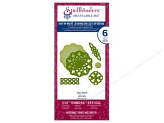 coordination $4 - $6: Spellbinders Shapeabilities Die Celtic Motifs
