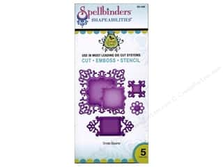 Spellbinders Shapeabilities Die Ornate Squares