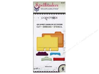 Dies Organizers: Spellbinders Shapeabilities Die Address Book