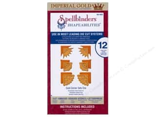 Spellbinders Shapeabilities Die Gold Corners One