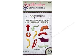 Spellbinders $5 - $10: Spellbinders Shapeabilities Die You Are Here
