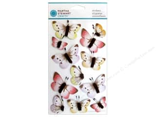 Martha Stewart Sticker Sunny Days Ombre Butterfly