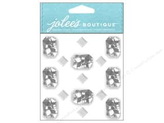 Rhinestones Clearance Crafts: Jolee's Boutique Stickers Foil Jewels Diamond