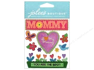 Mother's Day Gift Ideas Note Cards: Jolee's Boutique Stickers I Love My Mommy