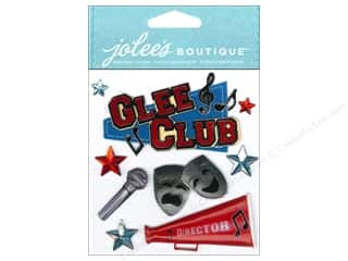 Jolee's Boutique Stickers Glee Club