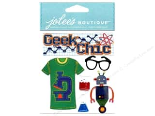 Jolee&#39;s Boutique Stickers Geek Chic