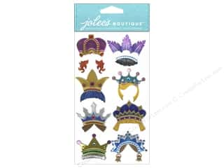 Rhinestones $3 - $4: Jolee's Boutique Stickers Dressups Fun Crowns