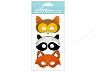 Jolee's Boutique Stickers Dressups Furry Masks