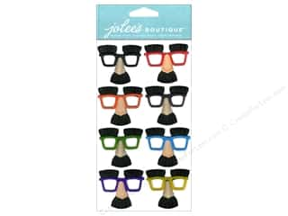 3D Stickers: Jolee's Boutique Stickers Dressups Mini Noses & Glasses