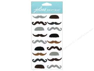 Jolee's Boutique Stickers Dressups Small Moustaches