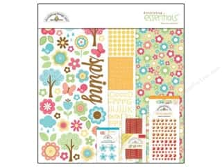 Doodlebug Kit Essentials Paper Flower Box
