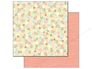 Mother Nature's Doodlebug Paper 12 x 12 in: Doodlebug Paper 12 x 12 in. Flower Box Delicate Daisies (25 pieces)