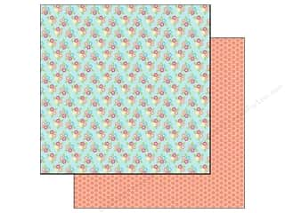 Doodlebug 12 in: Doodlebug Paper 12 x 12 in. Flower Box Wallflowers (25 pieces)