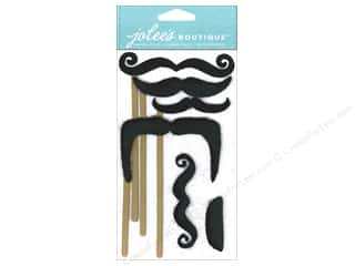 Jolee's Boutique Stickers Dressups Moustaches On Stick
