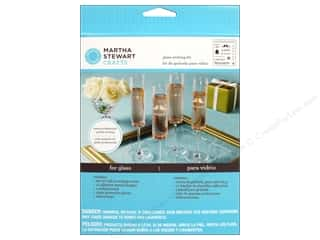 New Years Resolution Sale Kit: Martha Stewart Glass Etching Kit by Plaid Wedding