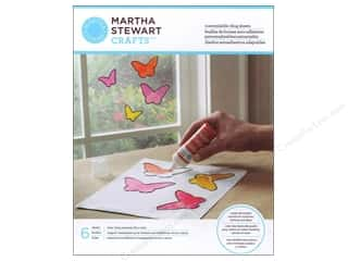 Plastic / Acetate Sheets: Martha Stewart Glass Paintable Cling Customizable