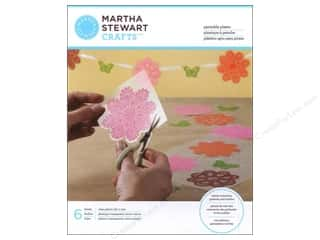 Martha Stewart Glass Paintable Plastic 8x10 6pc