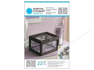 Glasses Martha Stewart Glass Paintable by Plaid: Martha Stewart Glass Paintable by Plaid Cling Gate Scrolls