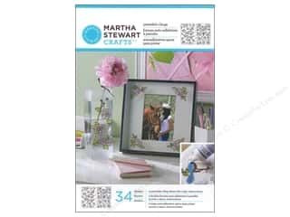 Martha Stewart Glass Paintable Cling Rose Bouquet
