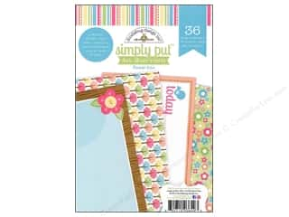Doodlebug Album Inserts 4x6 Flower Box