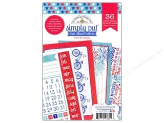 Doodlebug Album Inserts 4x6 Stars &amp; Stripes