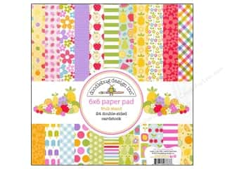 Fruit & Vegetables: Doodlebug Paper Pad 6 x 6 in. Fruit Stand