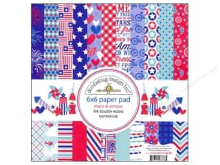 Doodlebug Paper Pad 6x6 Stars &amp; Stripes