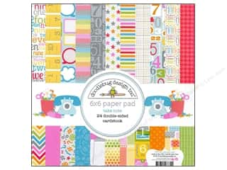 "Doodlebug ABC & 123: Doodlebug Paper Pad 6""x 6"" Take Note"
