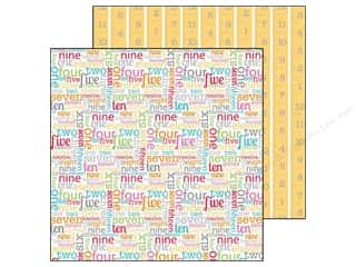 Doodlebug Paper 12 x 12 in. Count On It (25 piece)