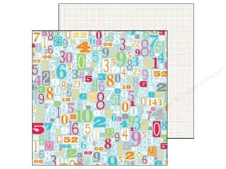 Doodlebug ABC & 123: Doodlebug Paper 12 x 12 in. Take Note Totally (25 pieces)