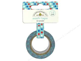 Doodlebug Washi Tape 12yd Star Spangled