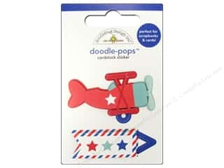 sticker: Doodlebug Sticker Doodle Pops Air Mail