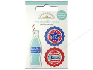 Doodlebug Doodle-Pops 3-D Stickers Mini Soda Pop