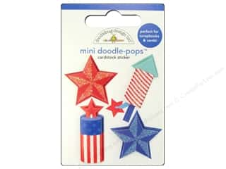 sticker: Doodlebug Sticker Doodle Pops Fire Cracker