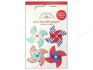 stickers  -3D -cardstock -fabric: Doodlebug Sticker Doodle Pops Spinners