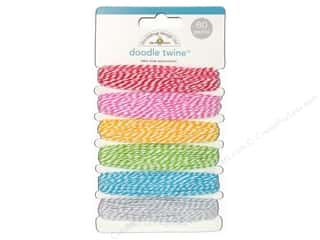 Doodlebug Doodle Twine 6pc Assorted Take Note