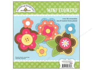 Doodlebug Embel Craft Kit Flower Box Mini Flowers