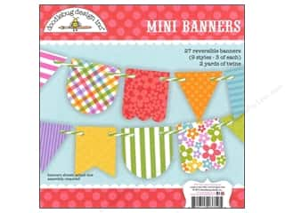 Crafting Kits: Doodlebug Embellishment Craft Kit Fruit Stand Mini Banner