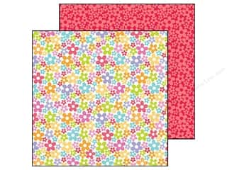 Doodlebug Paper 12 x 12 in. Fruit Stand Pretty Petals (25 piece)