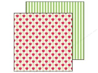 Doodlebug Paper 12 x 12 in. Fruit Stand Apple A Day (25 piece)