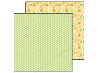 Doodlebug Paper 12 x 12 in. Fruit Stand Orange Blossoms (25 piece)