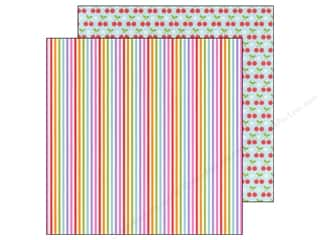 Doodlebug Paper 12 x 12 in. Fruit Stand Summer Stripes (25 piece)
