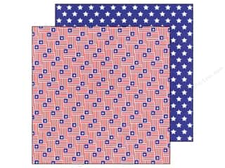 Doodlebug Paper 12 x 12 in. Stars &amp; Stripes (25 piece)