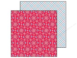 Doodlebug Paper 12 x 12 in. Stars & Stripes Bandana (25 piece)