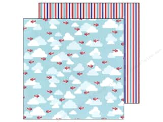 Doodlebug Paper 12 x 12 in. Stars&Stripes Freedom Flight (25 piece)